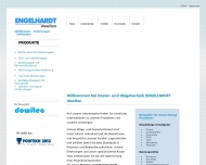 Bild Webseite ENGELHARDT - DOWITEC Nürnberg