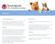 Bild Webseite Lenke Annette Dr.med.vet. Tierärztin Hamburg