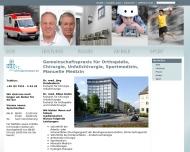 Bild Webseite Reichel Rainer Dr. med. Chirurg und Unfallchirurg , Hundenborn Jörg Dr. med. Chirurg und Unfallchirurg Konstanz