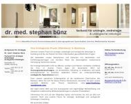 Bild Bünz Stephan Dr.med. Facharzt für Urologie