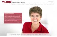 Bild Webseite Steffers Andrea Dr. Zahnärztin für Implantologie und Ästhetische Zahnheilkunde Hamburg