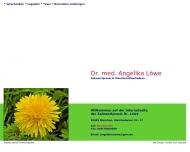 Bild Webseite Löwe Angelika Dr. München
