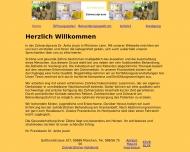 Bild Webseite Jauck Anita Dr. Zahnärztin München