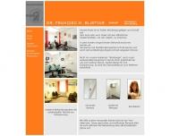Website Blistyar Francisc Marcel Dr. Zahnarzt