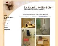 Bild Webseite Müller-Böhm Monika Dr. Zahnärztin München