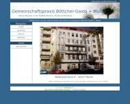 Bild Webseite Müller Dr.sc. , Böttcher B. Dr. Zahnärztliche Gemeinschaftspraxis Berlin