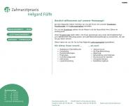 Bild Webseite Fülfe Helgard Dr. Zahnärztin Berlin