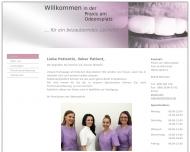 Bild Webseite Haid Aliki Dr. Zahnarztpraxis München