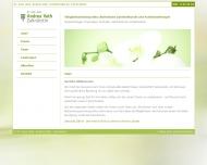 Bild Webseite Zahnarztpraxis Dr. Andrea Vath Zahnarztpraxis Berlin