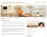 Bild Webseite Muche Robert Dr. Zahnarztpraxis München