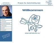 Bild Webseite Kalemkeridis P. Zahnarzt Berlin