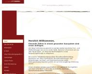 Bild Webseite Freimann Ingo Dr. , Lund Marion Dr. Zahnarztpraxis Frankfurt