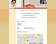 Bild Webseite Pitz Zahnarztpraxis Berlin
