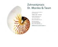 Bild Webseite Mainka Almuth Dr. u. Hannig Dr. Zahnärzte München