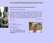 Bild Webseite Bernsdorff Alexandra Dr. Dr. Zahnärztin München