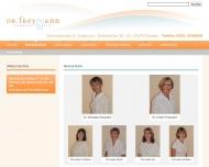 Website Zahnarztpraxis , Freymann Kristin Dr.med.dent., Freymann Michaela Dr.med.dent.