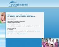Bild Webseite Betz Angelika Dr.med. München
