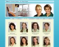 Website Gerber Kristina Dr. Zahnärztin