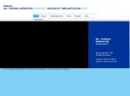 Bild Webseite Hörmeyer Thomas Dr.med.dent. Zahnarzt Konstanz