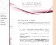 Bild Webseite Weinert Heidrun Dr. Ganzheitliche Zahnheilkunde www.ganzsanft.de München