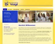 Bild Webseite Voigt Susanne Dr. Zahnärztin Hamburg