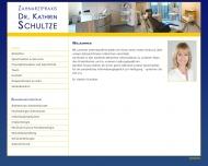 Bild Webseite Schultze Kathrin Dr. Zahnärztin München