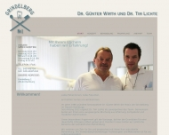 Bild Webseite Zahnarztpraxis Grindelberg Dr. Wirth und Dr. Lichte Hamburg