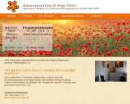 Bild Webseite Tömöri Kinga München