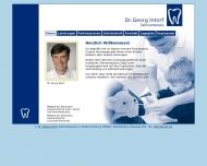 Bild Webseite Intorf Georg Dr. Zahnarztpraxis Hamburg