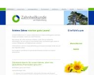 Bild Webseite Wilde-Janssen Dagmar Zahnärztin Berlin