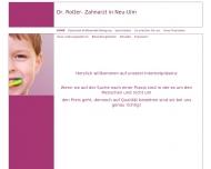 Bild Webseite  Neu-Ulm