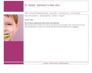 Website Rotter Aurelian Dr. Zahnarztpraxis