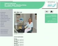 Bild Webseite Brien Martina Dr. Zahnärztin Berlin