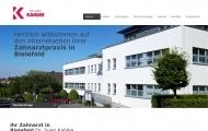 Website Zahnarztpraxis Dr. Sven Kahlke