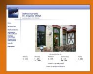 Bild Webseite Zahnarztpraxis Dr. Dagmar Weigt Zahnärzte Berlin