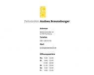 Bild Webseite Braunsburger Andrea Zahnärztin Hamburg