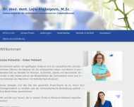 Bild Webseite Peiseler Alexa Dr. Zahnärztin München