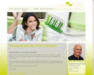 Bild Webseite Klauser Arno u. Egerer Claudia Dr. Zahnarztpraxis München