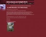 Website Zahnarztpraxis Dr. Britta Moosreiner und Dr.Viktoria Ansorg