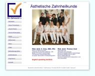Bild Praxisgemeinschaft Grau Sylwia DDS (USA), MSc u. Vaut Thomas Med.dent. Zahnärzte