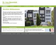 Bild Webseite Baumfalk Insa Dr. Praxis für Kieferorthopädie Berlin