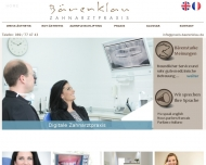 Bild Webseite Bärenklau Christian Zahnarztpraxis München