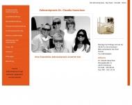 Bild Webseite Ganschow Claudia Dr. Zahnärztin Hamburg