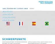 Bild Webseite Ricolleau Pierre Zahnarzt München