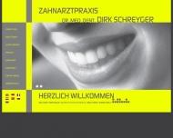 Bild Webseite Schreyger Dirk Dr. Zahnarzt München