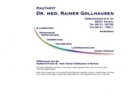 Bild Webseite Gollhausen Rainer Dr.med. Hautarzt Dachau