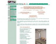 Bild Webseite Bajbouj R. Dr. , von Kobyletzki G. Dr.,  Dr.Haas R. & Kollegen Nürnberg