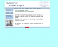 Website Margulan Alexander Hautarzt