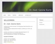 Bild Korts Gesine Dr.med. Hautärztin