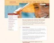 Bild Webseite Hautzentrum Sellspeicher Kiel